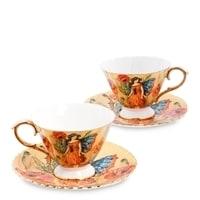 Чайный набор из костяного фарфора на 2 персоны «Дольче Вита» AS-78 (Pavone)