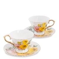 Чайный набор из костяного фарфора на 2 персоны «Дольче Вита» AS-84 (Pavone)