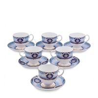 """Чайный набор из костяного фарфора на 6 персон """"Флоренция"""" JK-15 (Pavone)"""