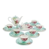 Чайный сервиз из костяного фарфора на 6 персон «Тоскана» JK-186 (Toscana Pavone)