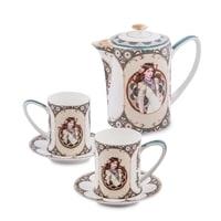 """Чайный набор из костяного фарфора на 2 персоны """"Габриэлла"""" JK-57 (Pavone)"""