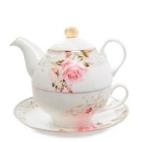 Чайный набор из костяного фарфора «Монте-Роза» JK-204 (Pavone)
