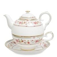 Чайный набор из костяного фарфора «Милано-Мариттима» JK-212 (Pavone)