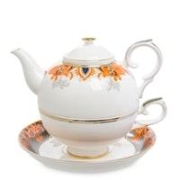 Чайный набор из костяного фарфора «Риомаджоре» JK-220 (Pavone)