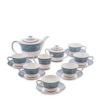 Чайный сервиз из костяного фарфора на 6 персон «Арабески» JK-172 (Pavone)