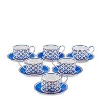 Чайный набор из костяного фарфора на 6 персон «Элегантность» JK-91 (Pavone)