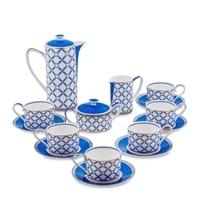 Чайный сервиз из костяного фарфора на 6 персон «Элегантность» JK-92 (Pavone)