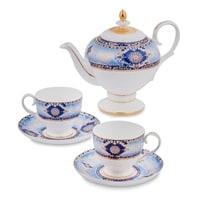 Чайный набор из костяного фарфора на 2 персоны «Флоренция» JK-18 (Pavone)