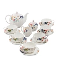 Чайный сервиз из фарфора на 6 персон «Королева Камилла» JS-18 (Pavone)