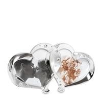 Фоторамка «Влюблённые сердца» на 2 фото CHK-014