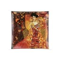 Тарелка квадратная «Золотая Адель» (Густав Климт)