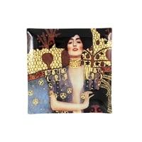 Тарелка квадратная «Юдифь» (Густав Климт)