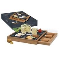 Набор для сыра: разделочная доска и 4 ножа «Мир сыров»
