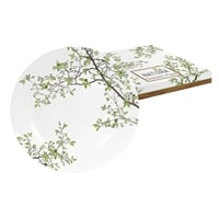 Тарелка десертная из фарфора «Натура» в подарочной упаковке