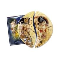 Набор из 2-х тарелок «Ожидание/Поцелуй» (Густав Климт)
