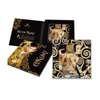 Тарелка квадратная «Ожидание» (Густав Климт)