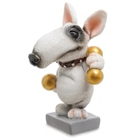 Статуэтка Собака Бультерьер «Желаю золотых достижений» RV-907 (W. Stratford)