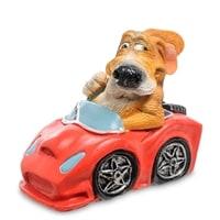 Статуэтка Собака Бигль «Желаю драйва по жизни» RV-918 (W. Stratford)