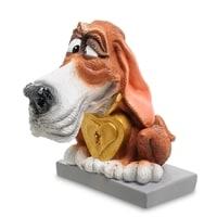 Статуэтка Собака Бассет-хаунд «Желаю везения» RV-916 (W. Stratford)