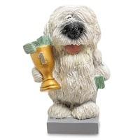 Статуэтка Собака Комондор «Желаю блестящих побед» RV-917 (W. Stratford)