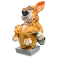 Статуэтка Собака Фоксхаунд «Желаю полной золотой чаши» RV-905 (W. Stratford)