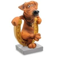 Статуэтка Собака «Подкова на счастье» RV-914 (W. Stratford)
