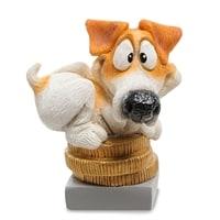 Статуэтка Собака Джек-Рассел «Поймай удачу» RV-911 (W. Stratford)