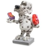 Статуэтка Собака Далматинец «Подарок от чистого сердца» RV-909 (W. Stratford)
