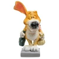 Статуэтка Собака Бигль «Желаю удовольствий» RV-901 (W. Stratford)