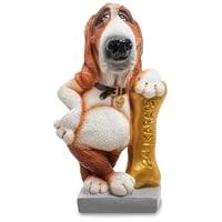 Статуэтка Собака Бассет-хаунд «Жизнь удалась» RV-903 (W. Stratford)