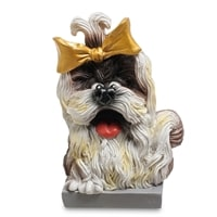 Статуэтка Собака Ши-тцу «Будьте счастливы» RV-919 (W. Stratford)