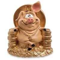 Статуэтка Свинка «Желаю богатства» RV-614