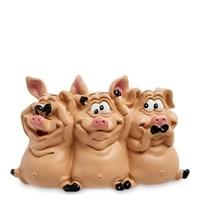 Статуэтка «Трио мудрых свиней» RV-618