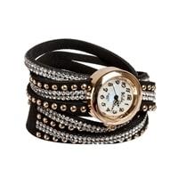 "Y-CH028 Браслет-часы ""Радуга"" черный"
