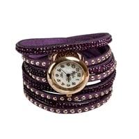 "Y-CH031 Браслет-часы ""Радуга"" фиолет"