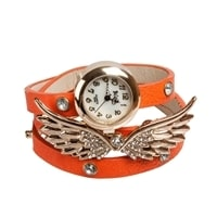 "Y-CH035 Браслет-часы ""Крылья Ангела"" оранж"