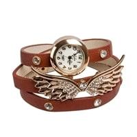 "Y-CH036 Браслет-часы ""Крылья Ангела"" коричн"
