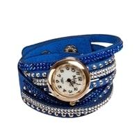 "Y-CH032 Браслет-часы ""Радуга"" голубой"