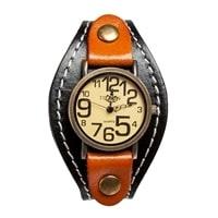 "Y-CH048 Браслет-часы ""Классика"" черн/коричн"