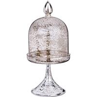 Ваза декоративная «Конус»  (старинное серебро)