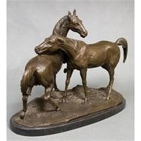 Фигура бронзовая «Лошади» AL-095