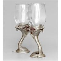 Набор бокалов для вина «Змея» WIN-220