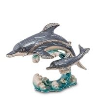 Шкатулка «Два дельфина» SMT-934