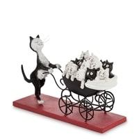 Статуэтка «Кошка с коляской!» DUB 25 (The Pram. Parastone)