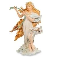 Статуэтка «Девушка Весна» Альфонса Мухи pr-MUC04 (Museum. Parastone)