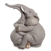 Фигурка «Пара слонов и совенок» ED-344