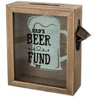 Копилка для пробок «Фонд папиного пива» M-124101