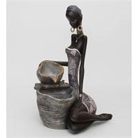 Статуэтка-фонтан «Африканская пара» SM-153