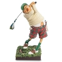 "Статуэтка ""Гольфист"" FO 85504 (Fore..! The Golfer. Forchino)"