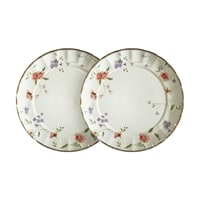 Набор из 2-х десертных тарелок из фарфора «Флёр»
